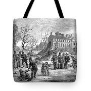Curling, 1853 Tote Bag