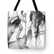 Curling Players, 1885 Tote Bag