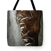 Curly Bark Of A Palm Tree Tote Bag
