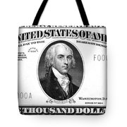 Currency: 5,000 Dollar Bill Tote Bag