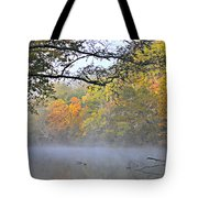 Current River Fall 44r Tote Bag