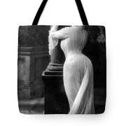 Curves In Black And White Tote Bag