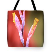 Cusp Of Emergence Tote Bag by Leigh Meredith