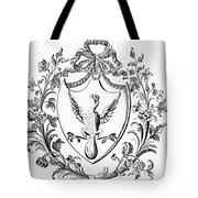 Custis: Coat Of Arms Tote Bag