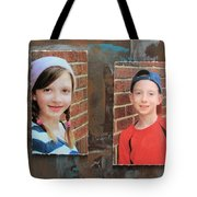 Custom Photo Portrait Group Tote Bag