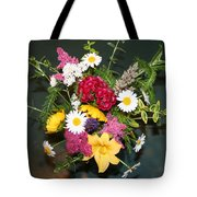 Cut Flowers Tote Bag