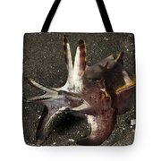 Cuttlefish With Tentacles Extended Tote Bag