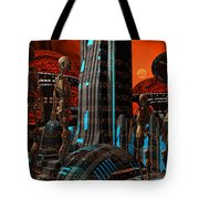 Cyber Innovation Tote Bag