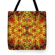 Cyberbraid Mandala Tote Bag
