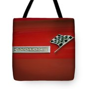 Cyclone Emblem Tote Bag