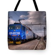 Czech Express Tote Bag