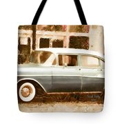 Dad's Old Car Tote Bag