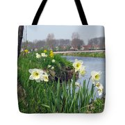 Daffodils In Holland 01 Tote Bag