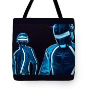Daft Punk Tote Bag by Ellen Patton