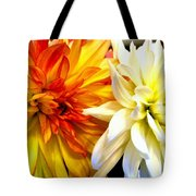 Dahlia Days Tote Bag