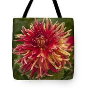 Dahlia In Its Prime Tote Bag