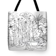 Daily Life In South And Center Cameroon 01 Tote Bag