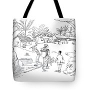 Daily Life In South And Center Cameroon 02 Tote Bag