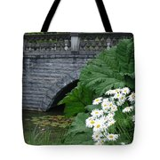 Stone Bridge Daisies Tote Bag