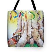 Daisy Fairy Illustration Tote Bag