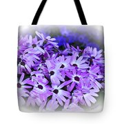 Daisy Garden Vignette Tote Bag