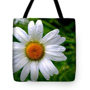 Daisy Shower Tote Bag