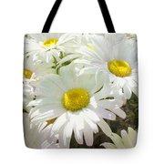Daisy Summer Garden Tote Bag