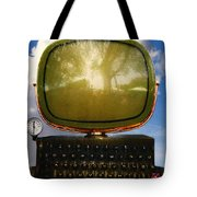 Dali.s Surreal Steampunk Personal Computer With Upgrades Tote Bag