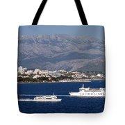 Dalmatian Coast Tote Bag
