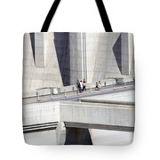 Dam Tourists Tote Bag