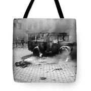 Damage Done By A V-2 Rocket In Antwerp Tote Bag