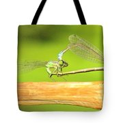 Damselflies Tote Bag
