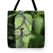 Damselfly Love Tote Bag