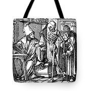 Dance Of Death, 1545 Tote Bag