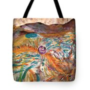 Dance Of The Elements Tote Bag