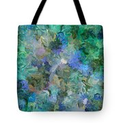 Dance Of The Flowers Tote Bag