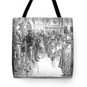 Dance: Virginia Reel C1800 Tote Bag by Granger