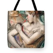 Dancer Tote Bag by Edgar Degas