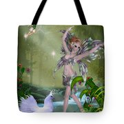 Dances In The Woodlands Tote Bag