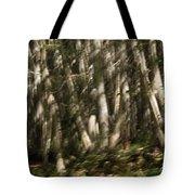 Dancing Birches Tote Bag