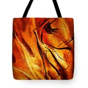 Dancing Fire Vi Tote Bag
