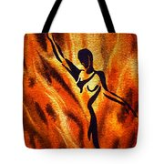 Dancing Fire Vii Tote Bag
