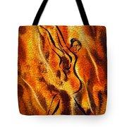 Dancing Fire Viii Tote Bag