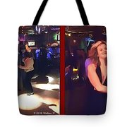 Dancing New Years Eve - Gently Cross Your Eyes And Focus On The Middle Image Tote Bag