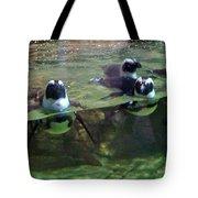 Dancing Penguins Tote Bag