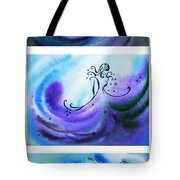 Dancing Water V Tote Bag