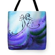 Dancing Water Vi Tote Bag