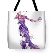 Dancing With A Stranger Tote Bag