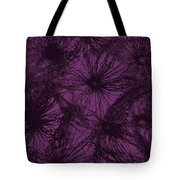 Dandelion Abstract Tote Bag