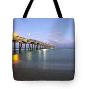 Dania Beach Pier Tote Bag